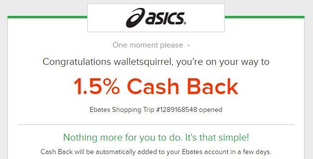 Ebates Review - Sending Page
