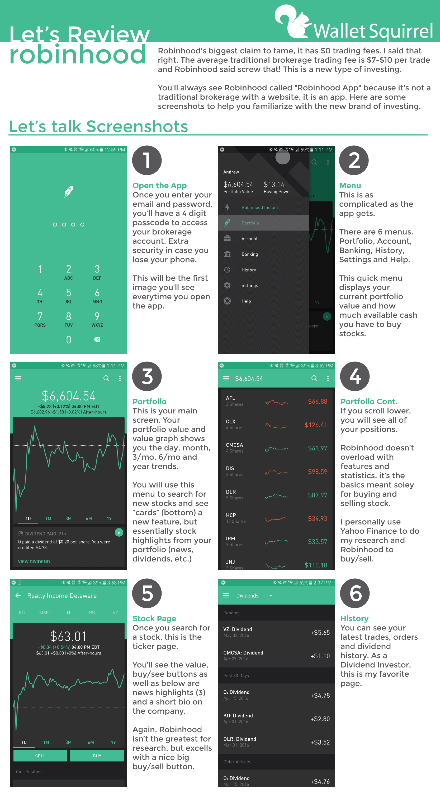 Buy Robinhood Commission-Free Investing Price Details