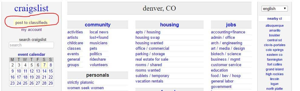 How To Sell Something On Craigslist And Make Money