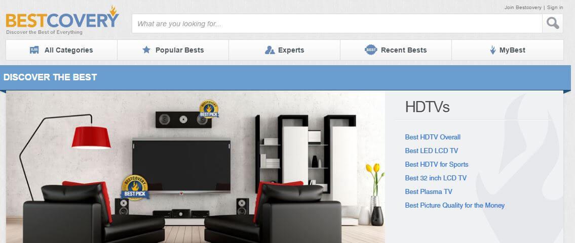 BestCovery -Amazon Affiliate Website Example