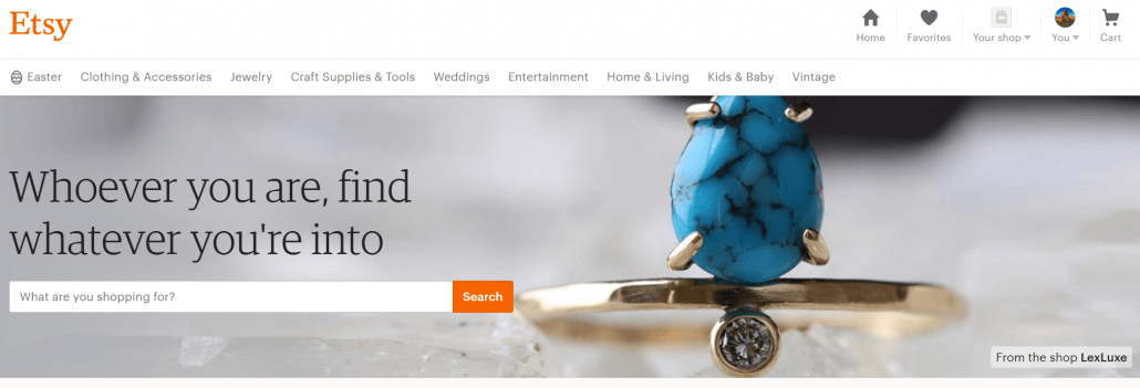 Etsy allows you to sell your own crafts as a part time gig.